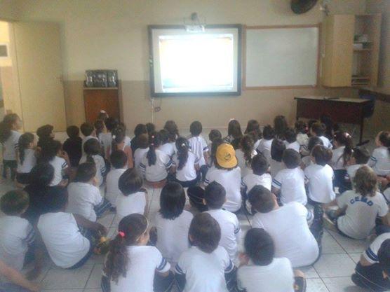 Aula de Alfabetização – Pré III e 1° ano