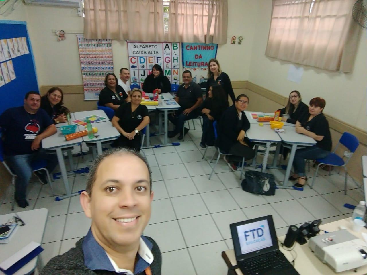 Professores participam do curso Gestão de Sala de Aula