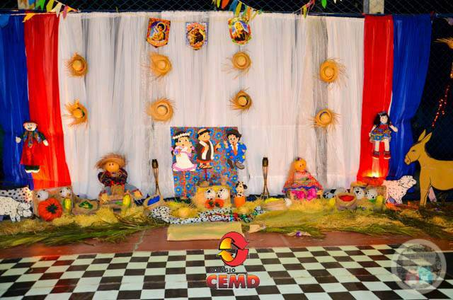 Festa Junina do Colégio Cemd, foi pura animação!