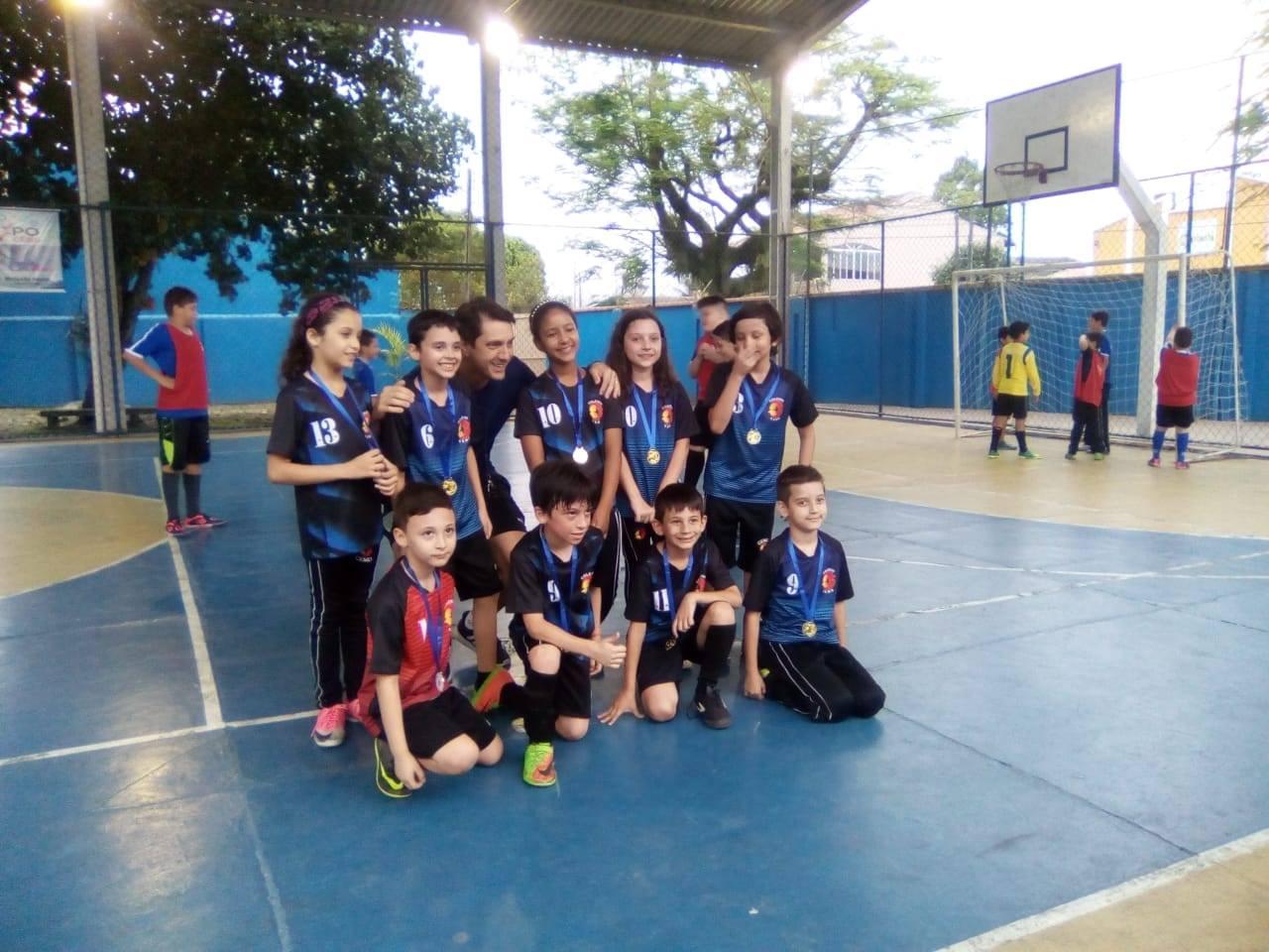 Confraternização da Escolinha de Futsal Sub 9